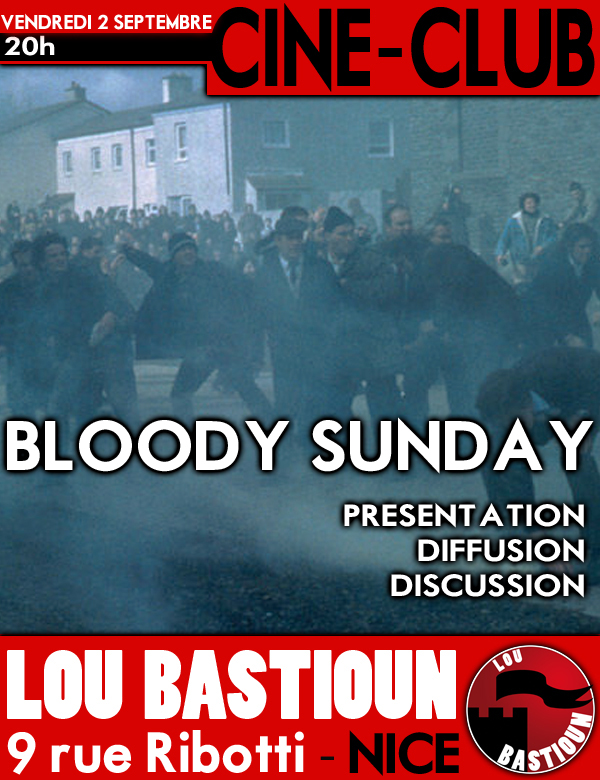Bloody Sunday - Septembre